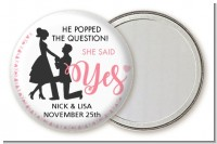She Said Yes - Personalized Bridal Shower Pocket Mirror Favors