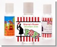 She's Ready To Pop Christmas Edition - Personalized Baby Shower Hand Sanitizers Favors thumbnail