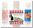 She's Ready To Pop Christmas Edition - Personalized Baby Shower Lotion Favors thumbnail