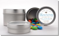 Showering With Love - Custom Baby Shower Favor Tins