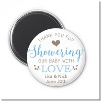 Showering With Love - Personalized Baby Shower Magnet Favors