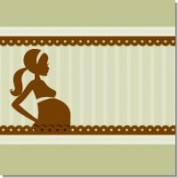 Mommy Silhouette Baby Shower Theme