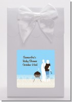Silhouette Couple BBQ Boy - Baby Shower Goodie Bags
