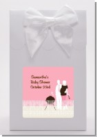 Silhouette Couple BBQ Girl - Baby Shower Goodie Bags
