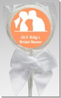 Silhouette Couple - Personalized Bridal Shower Lollipop Favors