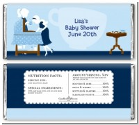 Sip and See It's a Boy - Personalized Baby Shower Candy Bar Wrappers