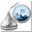 Sip and See It's a Boy - Hershey Kiss Baby Shower Sticker Labels thumbnail