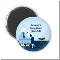 Sip and See It's a Boy - Personalized Baby Shower Magnet Favors