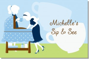Sip and See It's a Boy - Personalized Baby Shower Placemats