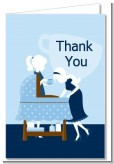 Sip and See It's a Boy - Baby Shower Thank You Cards