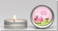 Sip and See It's a Girl - Baby Shower Candle Favors