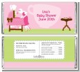 Sip and See It's a Girl - Personalized Baby Shower Candy Bar Wrappers thumbnail