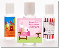 Sip and See It's a Girl - Personalized Baby Shower Hand Sanitizers Favors