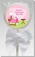 Sip and See It's a Girl - Personalized Baby Shower Lollipop Favors