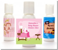 Sip and See It's a Girl - Personalized Baby Shower Lotion Favors