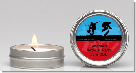 Skateboard - Birthday Party Candle Favors