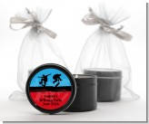 Skateboard - Birthday Party Black Candle Tin Favors