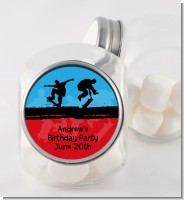 Skateboard - Personalized Birthday Party Candy Jar