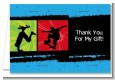 Skateboard - Birthday Party Thank You Cards thumbnail