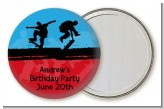Skateboard - Personalized Birthday Party Pocket Mirror Favors