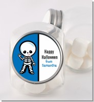 Skeleton - Personalized Halloween Candy Jar
