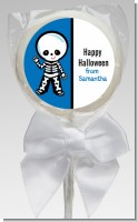 Skeleton - Personalized Halloween Lollipop Favors