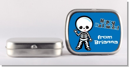 Skeleton - Personalized Halloween Mint Tins