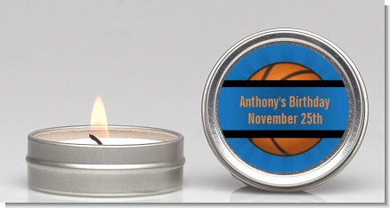 Slam Dunk - Birthday Party Candle Favors