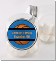 Slam Dunk - Personalized Birthday Party Candy Jar