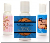 Slam Dunk - Personalized Birthday Party Lotion Favors