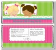 Slumber Party with Friends - Personalized Birthday Party Candy Bar Wrappers thumbnail