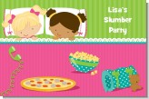 Slumber Party with Friends - Personalized Birthday Party Placemats