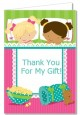 Slumber Party with Friends - Birthday Party Thank You Cards thumbnail