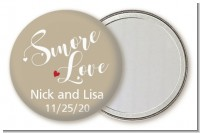 Smore Love - Personalized Bridal Shower Pocket Mirror Favors