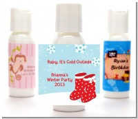Snow Boots - Personalized Christmas Lotion Favors
