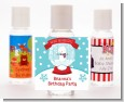 Snow Globe Winter Wonderland - Personalized Birthday Party Hand Sanitizers Favors thumbnail
