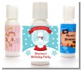 Snow Globe Winter Wonderland - Personalized Birthday Party Lotion Favors thumbnail