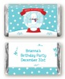 Snow Globe Winter Wonderland - Personalized Birthday Party Mini Candy Bar Wrappers thumbnail
