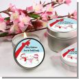 Snowman Family with Snowflakes - Christmas Candle Favors thumbnail
