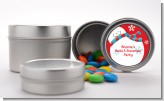 Snowman Fun - Custom Christmas Favor Tins
