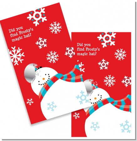 Snowman Fun - Christmas Scratch Off Game Tickets