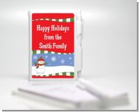 Frosty the Snowman - Baby Shower Personalized Notebook Favor