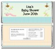Snug As a Bug - Personalized Baby Shower Candy Bar Wrappers thumbnail