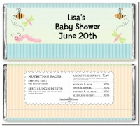 Snug As a Bug - Personalized Baby Shower Candy Bar Wrappers