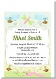 Snug As a Bug - Baby Shower Petite Invitations