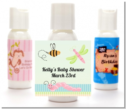 Snug As a Bug - Personalized Baby Shower Lotion Favors