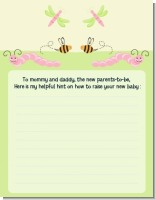 Snug As a Bug - Baby Shower Notes of Advice