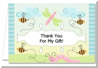 Snug As a Bug - Baby Shower Thank You Cards