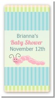Snug As a Bug - Custom Rectangle Baby Shower Sticker/Labels