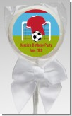 Soccer - Personalized Birthday Party Lollipop Favors
